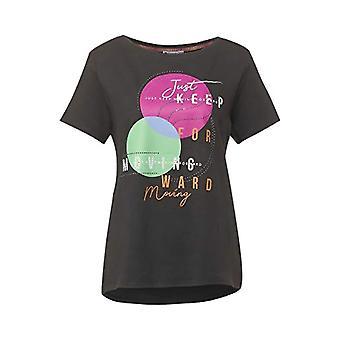 Street One 315832 T-Shirt, Dark Shaded Grey, 38 Woman