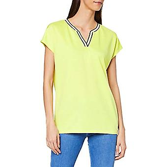 Garcia M00004 T-shirt, Yellow (Limelight 145), Large Woman