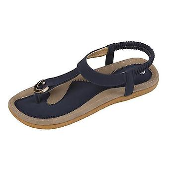 Women Flat Heel Casual Sandals Woman Soft Bottom Slippers