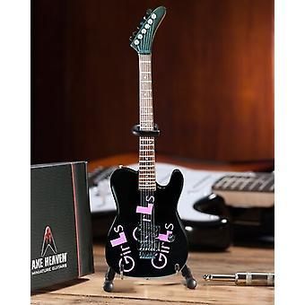 Mick Mars Motley Crue Blk Girls Girls Guitar USA import