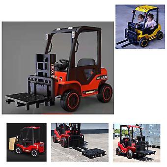 ES-Toys barns elektriska fordon gaffeltruck fjärrkontroll musik funktionsbälte