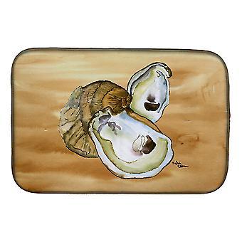 Caroline'S Treasures Oyster Dish Drying Mat, 14 X 21, Multicolor