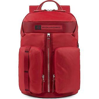 Piquadro - Bags - Backpacks - CA5038BIO-R - Men - Red