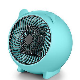 Yhdysvaltalainen pistoke sininen kotitaloustoimiston pöytälämmitin, kannettava mini kuuma tuuletin az5697