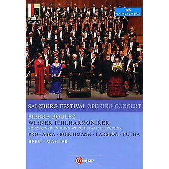 Salzburg Opening Concert 2011 [DVD] USA import