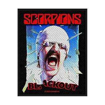 Scorpions - Blackout Standard Patch