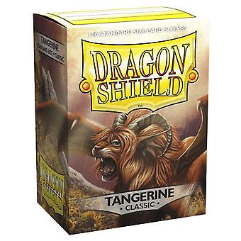 Dragon Shield Classic Tangerine Card Sleeves - 100 Sleeves