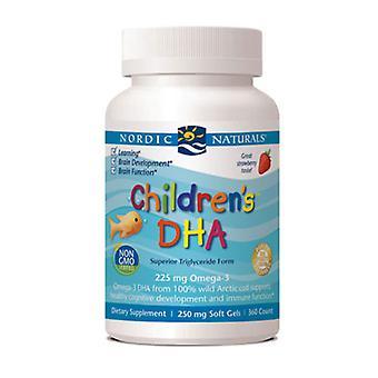 Nordic Naturals Children's DHA, 250 mg, Strawberry 360 softgels