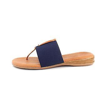 André Assous Womens Nice Open Toe Casual Slide Sandals