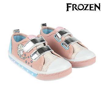أحذية عادية مع مصابيح LED المجمدة 73621 الوردي