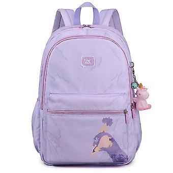 Koulureppu nailonilla oppilaille Matkalaukku Bookbag Daypack