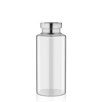 VZO0027 Transparent Glass Vase | 24cm