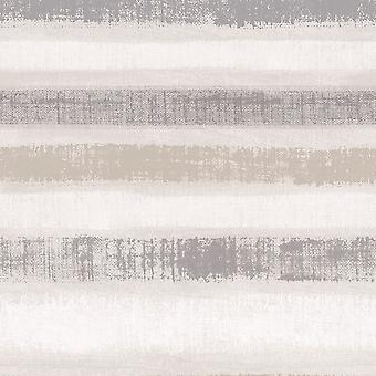 Arthouse Podróże Malowane Paski Kreda Szary Tapety 610603