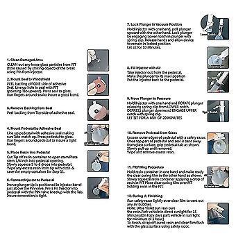 Car Kit Glass Windscreen Windshield Repair Tool Glass Crack Repair Kit