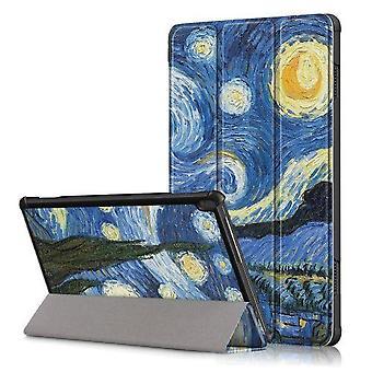 Tri-fold  Case For Lenovo Tab M10