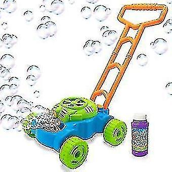Ručné zatlačenie automatické hudobné bubliny auto, elektrické vonkajšie bublina fúkanie tank auto