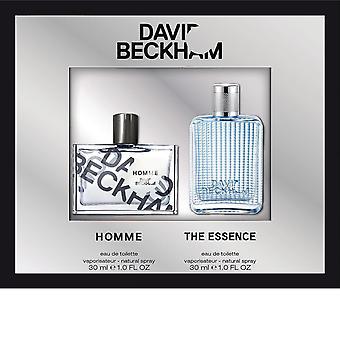 David beckham 2 stycke set homme 30ml edt + essensen 30ml edt