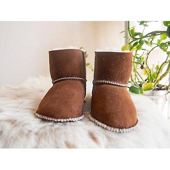 Handmade Sheepskin Boots