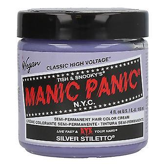 Permanent färgklassiker Manic Panic 612600110067 Silver Stiletto (118 ml)