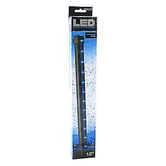 """Keresztül Aqua Blue LED light & Airstone - 2,7 Watt - 12 """"Hosszú"""