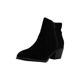 Steve Madden Womens Rush Suede Closed Toe Ankle Fashion Boots