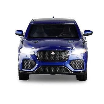 מכוניות עדי 1:32 יגואר f קצב suv סגסוגת מכונית סגסוגת גלגל כחול