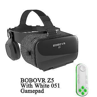 Bobovr z5 120 fov vr okulary wirtualnej rzeczywistości zdalny 3d android karton vr 3d zestaw słuchawkowy stereo kask