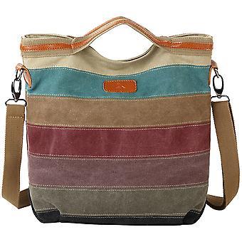 Canvas Cross Body Messenger Bag