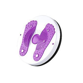 Qian Cintura Ab Recortador Cintura Equipo de ejercicio abdominal Disco para piernas Cintura Pie Tobillo Entrenamiento corporal