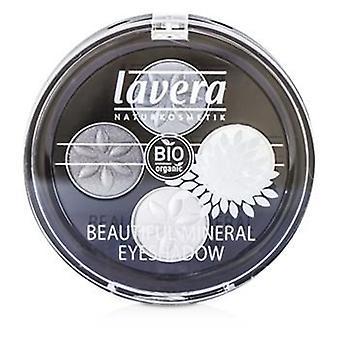 Lavera schöne Mineral Eyeshadow Quattro - rauchigen grau # 01 - 4x0.8/0.026oz