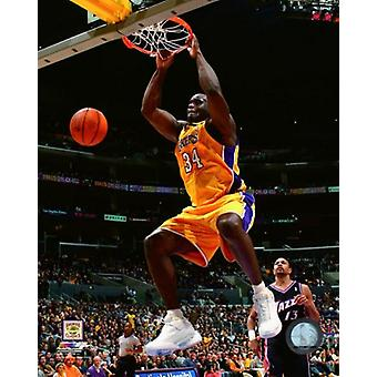 Shaquille ONeal 2002-03 Action Photo Print