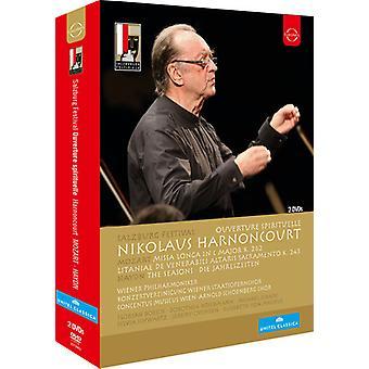 Nikolaus Harnoncourt - importation USA Salzburg Festival Nikolaus Harnoncourt [DVD]