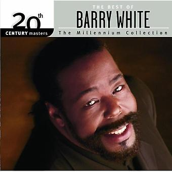Barry White - Millennium Collection-20th Century Masters [CD] USA import