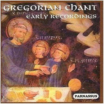 Gregorian Chant Early Recordings - Gregorian Chant - Early Recordings [CD] USA import