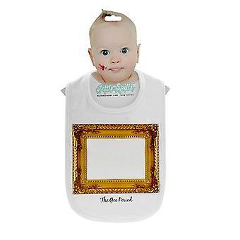 Bib Vincent van Kleck frame baby joke prank