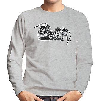 Shiver Me Tentacles Davey Jones Cthulhu Men's Sweatshirt
