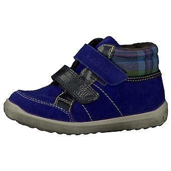 Ricosta Bajla Girls Waterproof Ankle Boot Blue
