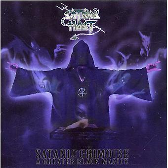 Satan's Host - Satanic Grimoire: A Greater Black Magick [CD] USA import