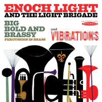 Enoch Light - Big Bold & Brassy & Vibrations [CD] USA import