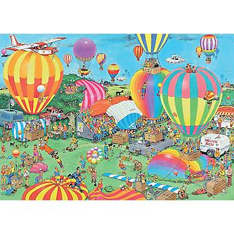 Jan van Haasteren The Balloon Festival Jigsaw Puzzle (1000 Pieces)