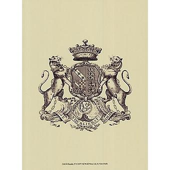 Heraldiek IV Poster Print by visie studio (10 x 13)