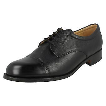 Zapatos de hombre Barker acento estilo Staines