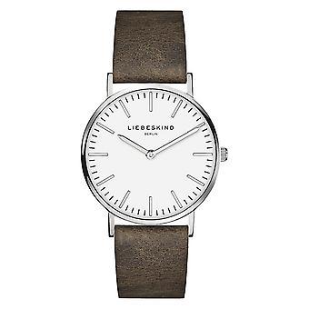 LIEBESKIND BERLIN ladies watch wristwatch leather LT-0086-LQ