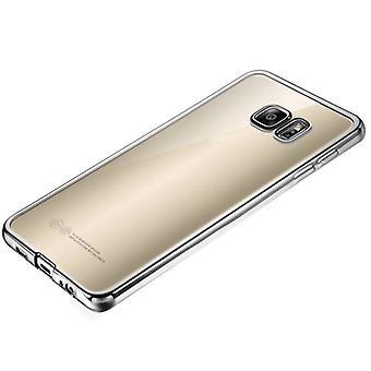 Premium TPU Silikoncase srebrny do Samsung Galaxy S6 G920 G920F