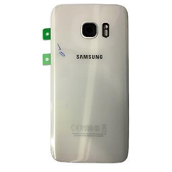 Samsung батарейного отсека для GH82 11384 D Галактика S7 G930 G930F + коврик клей белый