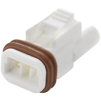 EDAC 570-002-000-200 Bullet connector Socket, rechte serie (aansluitingen): 570 totale aantal pins: 2 1 PC('s)
