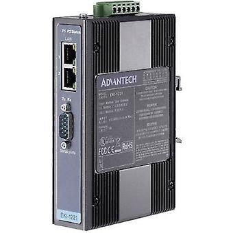 Advantech EKI-1221-CE data gateway Modbus gateway nr. aantal uitgangen: 1 x 12 V DC, 24 V DC