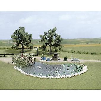 Busch 1210 Garden pond set 1 Set