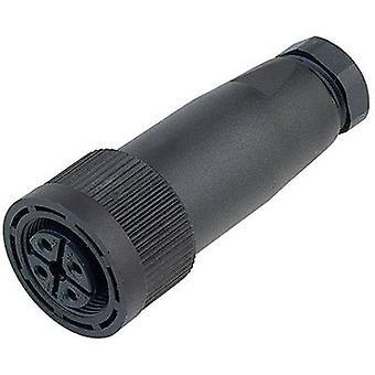 Binder 09-0440-10-04 M18 Sensor / Aktor-Stecker, Kappe, Schraube direkt