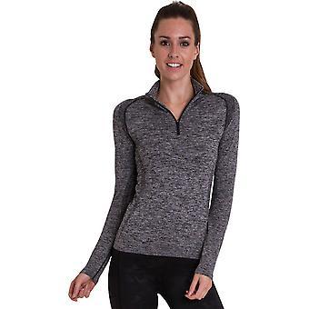 Regard extérieur Womens/dames Glenel Zip Cool sec T Shirt Top